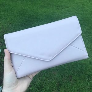 Simple Nude Pink Clutch